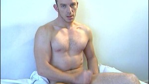 A nice innocent gym guy serviced his big cock by a guy!
