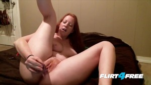 Cute Chubby Redhead Pleases Bo