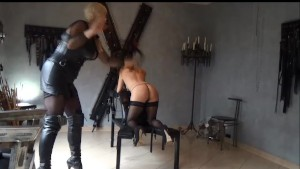Young slave first time dominated