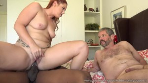 Edyn Blair Gets Fucked By Big Black Cock While Husband Watches