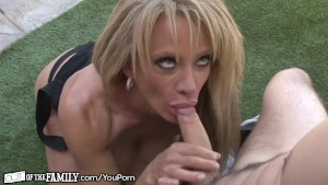 Horny Cougar has Pervy Young F