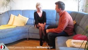 Die Deutsche Milf Sandy wird vom AC User gefickt