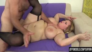 Big Boobed fat pussy fucked