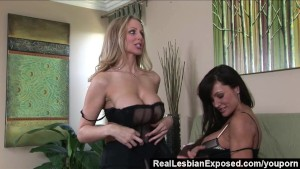 RealLesbianExposed - Who Licks Better Pussy - Lisa Ann or Julia Ann?