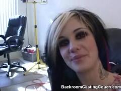 Goth Girl interviewee ASS FUCKED