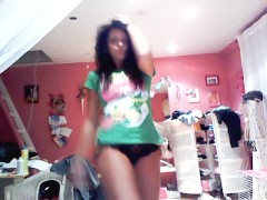 GIrl with Tripper Dancing nice
