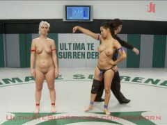 Isis Love wrestles and fucks Tara Lynn Fox