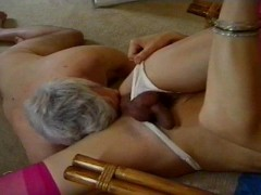 Older guy services Shemale