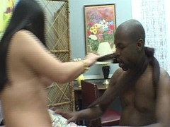 Asian girl and black guy play well together  PT.2/4