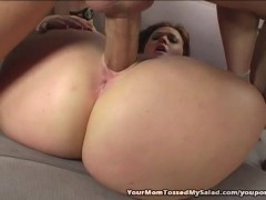 Filthy Milf Tossing Muscle Studs Salad