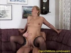 mom loves a young strong cock