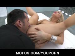Hot Blonde euro pornstar Aleska Diamond is ass fuc
