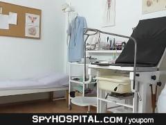 Women clinic hidden cam set-up
