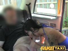 FakeTaxi Tight ass hole gets fucked again in taxi return