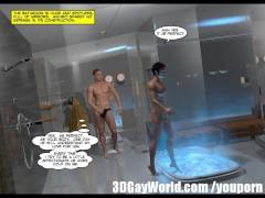 Japanese Sadomaso BDSM 3D Gay Cartoon Yaoi Anime Toon Comics