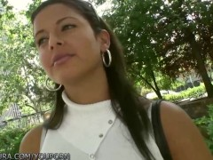 Puta Locura Amateur Latin Babe paid for sex