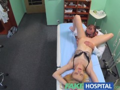 FakeHospital Doctors oral massage giv...