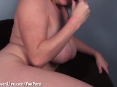 Maggie Green Plays With Her Tight Asshole!