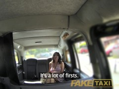 FakeTaxi Sexy milf with big tits does anal