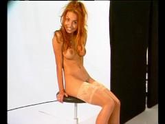 MILF Shows Her Trimmed-Vagina - Julia Reaves