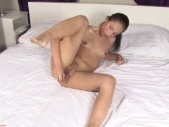 Angie Kazdo Toys Shaved Pussy