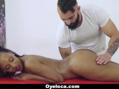 Oyeloca - Slender Latina Fucked By The Massage Therapist