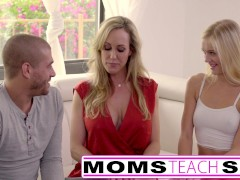 Moms Teach Sex - Big tit step mom catches daughter