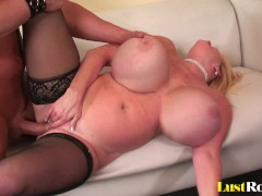 Gigantic knockers are the best with Kayla Kleevage