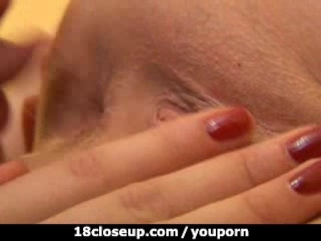 18yo slides her tongue into 3 inch wide gaping asshole 6