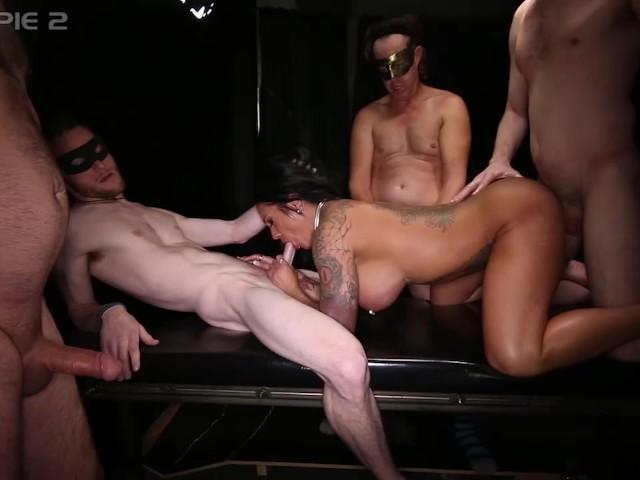 orgy Female bodybuilder