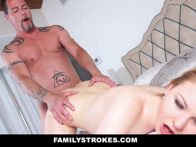 Familstrokes learning about sex from stepdad 9