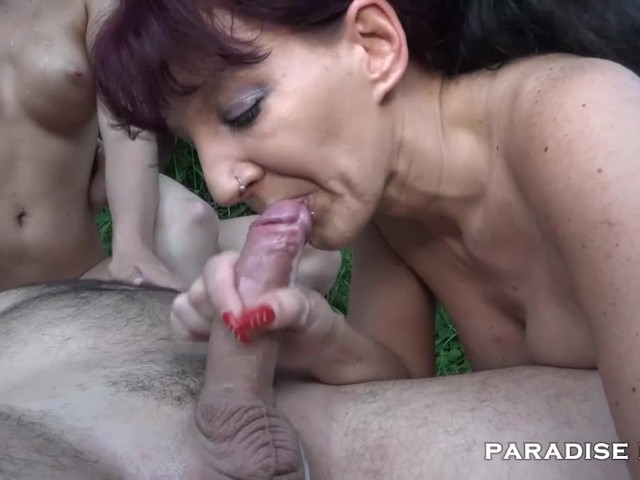 Milf dating young german boy to fuck her over internet 9