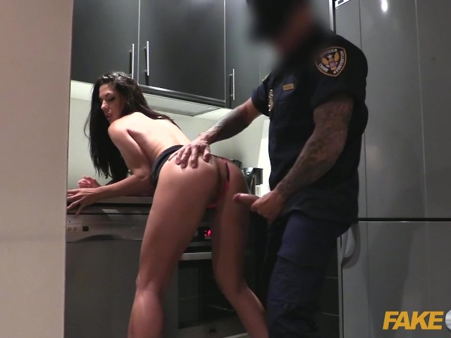 sexy police girl having sex