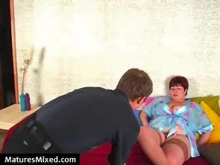 All titted matures fucking...