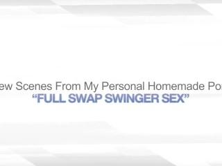FULL SWAP SWINGER SEX – WIFE SHARING BRANDI LOVE