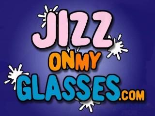 Cum On Glasses Jasmine Tame Gets A Big Facial...