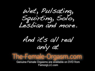 Dripping squirting lesbian all...