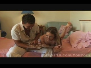 Carla's hands-on experience with an older guy