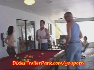 Trailer trash pool shooting with ed