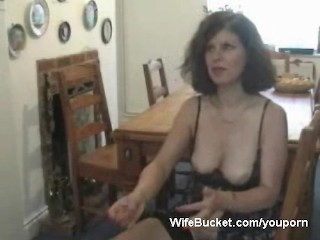 Milf wife gives awesome blowjob