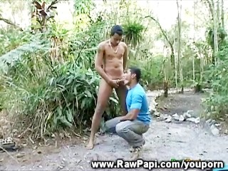 Outdoor Sex For Wild Hombres...