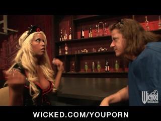 Big tit blonde pornstar bridgette b fucked hard...