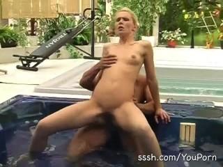 Women steamy hot tub sex 2