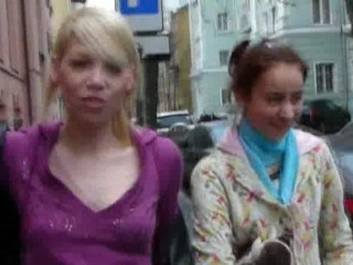 two czech pornstar on the street
