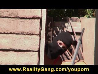 Hot young burglar