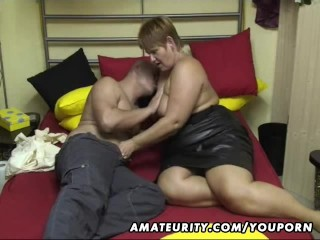 Chubby Amateur Wife Sucks And Fucks At Home...