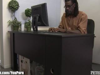 Gets a job riding big black dicks