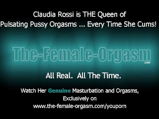 Claudia Rossi is THE Pulsating Pussy Orgasm Queen...