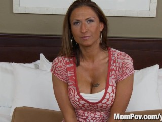 Milf does first porn