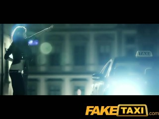 Faketaxi heavy metal grupie likes it hard and...